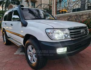 Toyota Land Cruiser 2003 White | Cars for sale in Dar es Salaam, Kinondoni