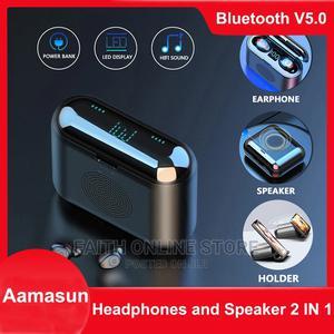 2 In 1 F9 Bluetooth Earphone | Headphones for sale in Dar es Salaam, Ilala