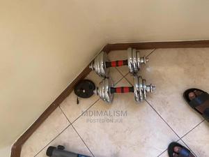 Adjustable Dumbbells | Sports Equipment for sale in Dar es Salaam, Kinondoni