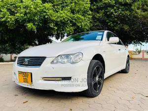 Toyota Mark X 2005 White   Cars for sale in Dar es Salaam, Kinondoni