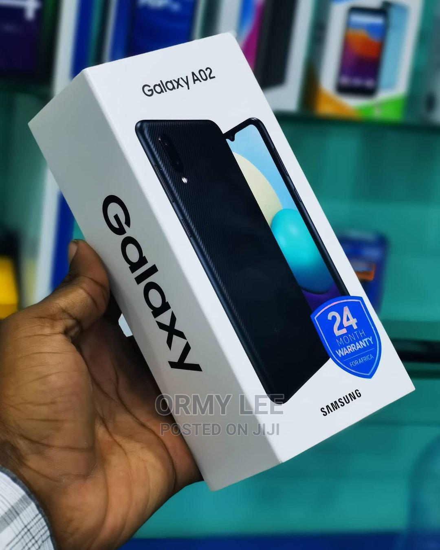 New Samsung Galaxy A02 32 GB Black | Mobile Phones for sale in Ilala, Dar es Salaam, Tanzania