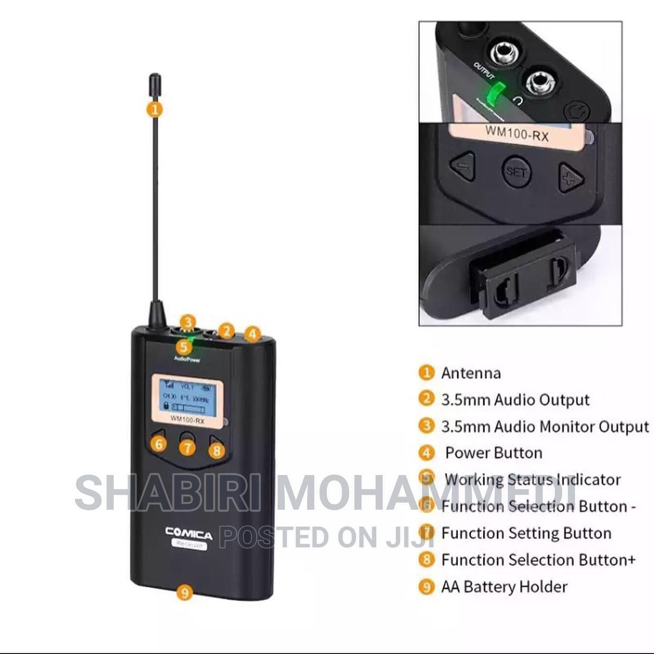 Archive: Comica Cvm-Wm100h 48-Channel Uhf Wireless Handheld Micro-Pho
