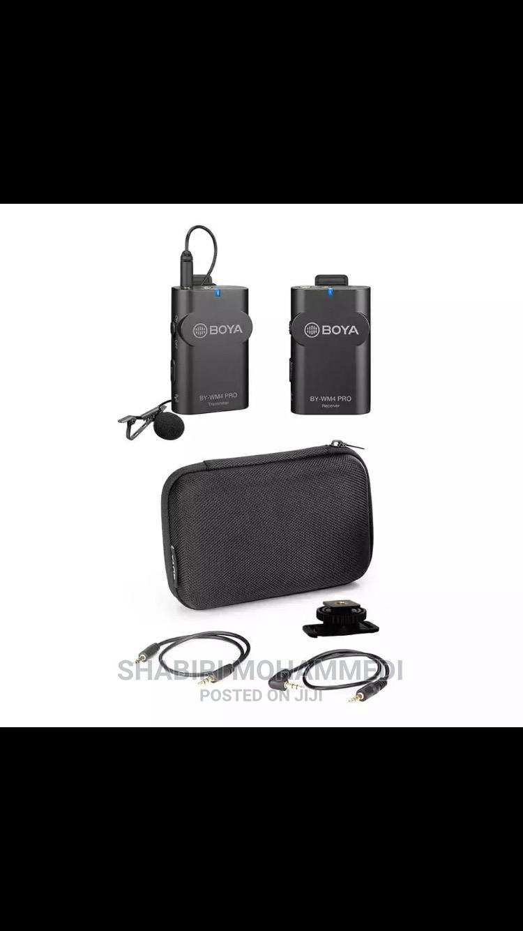 Archive: BOYA BY-WM4 Pro K1 Portable 2.4G Wireless Microphone System
