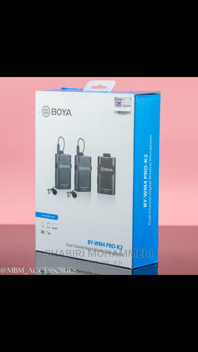 Archive: BOYA BY-WM4 Pro K2 Portable 2.4G Wireless Microphone System