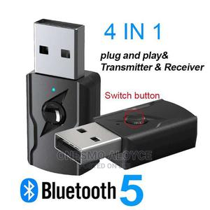 4 in 1 Wireless Bluetooth Receiver and Transmitter.Usb 5V   Computer Accessories  for sale in Dar es Salaam, Kinondoni