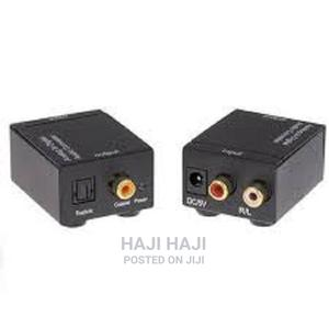 Digital To Analog Audio Converter Adapte | Accessories & Supplies for Electronics for sale in Dar es Salaam, Ilala