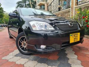 Toyota Corolla RunX 2002 Black   Cars for sale in Dar es Salaam, Kinondoni