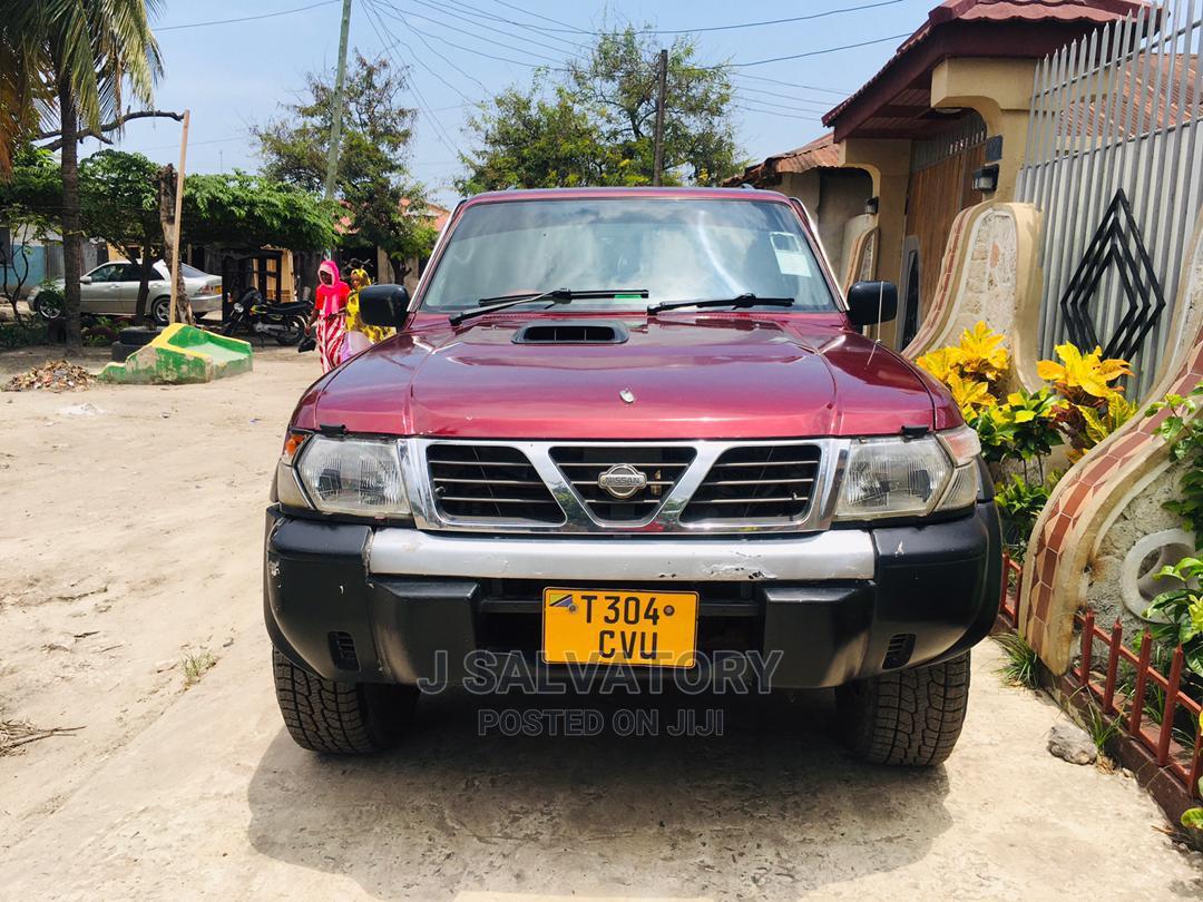 Nissan Patrol 2005 3.0 D Gr Red | Cars for sale in Kinondoni, Dar es Salaam, Tanzania