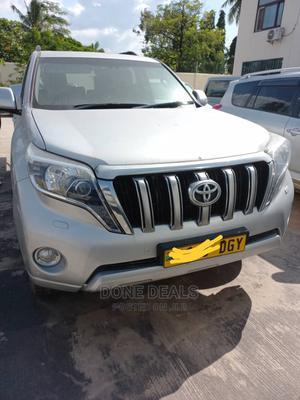 Toyota Land Cruiser Prado 2015 Silver   Cars for sale in Dar es Salaam, Kinondoni