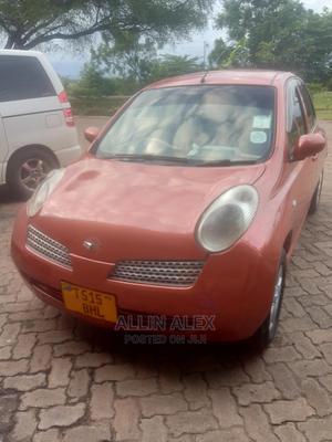 Nissan March 2003 Orange | Cars for sale in Arusha Region, Arusha