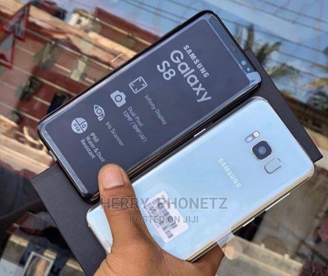 New Samsung Galaxy S8 64 GB Black | Mobile Phones for sale in Ilala, Dar es Salaam, Tanzania