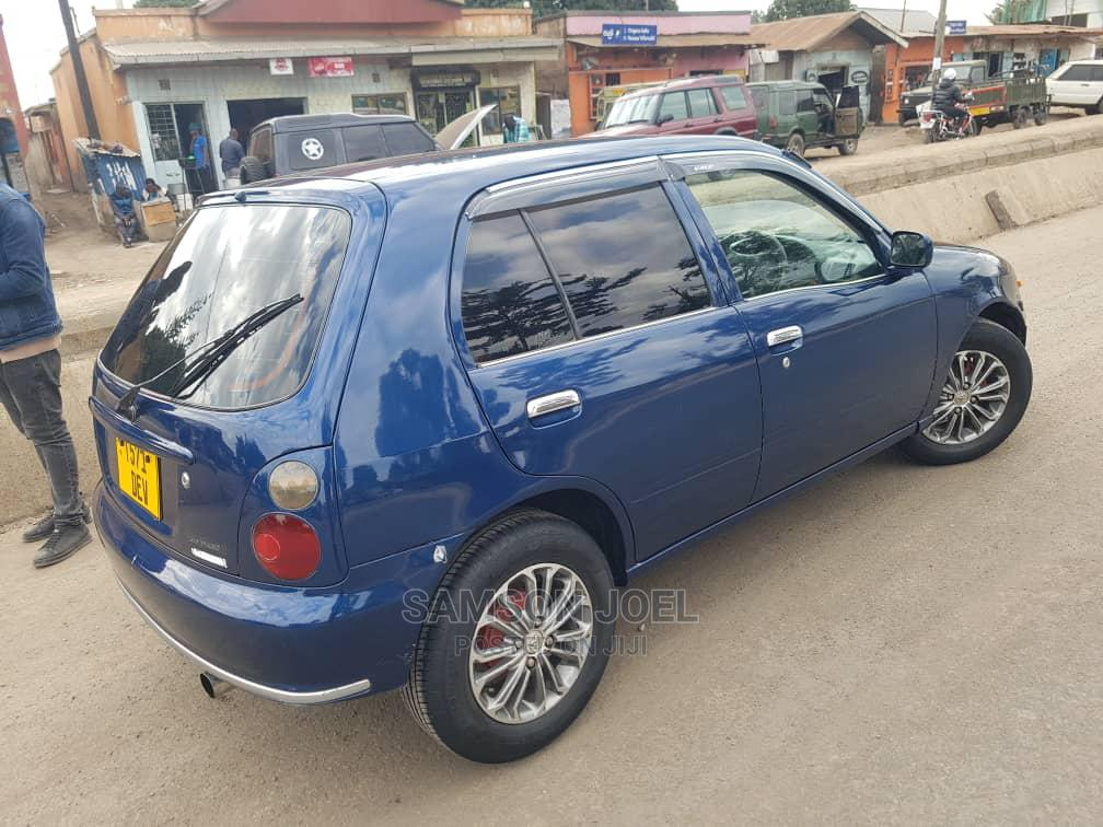 Archive: Toyota Starlet 1998 Blue