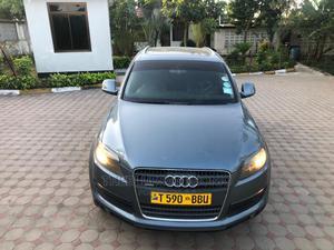 Audi Q7 2007 3.0 TDI Quattro Tiptronic Gray | Cars for sale in Dar es Salaam, Kinondoni