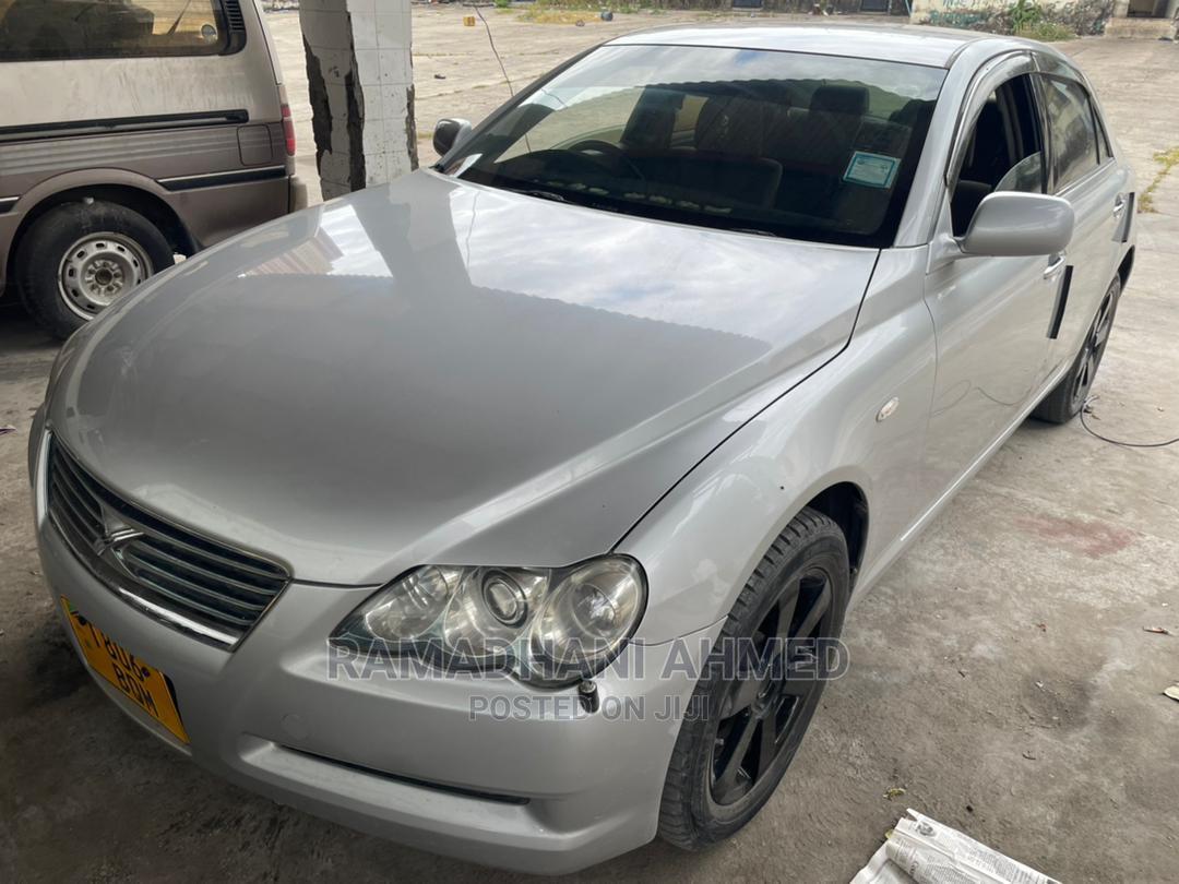 Toyota Mark X 2005 Silver | Cars for sale in Ilala, Dar es Salaam, Tanzania