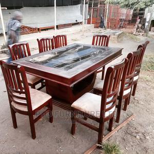 Dining Table Ya Viti 8   Furniture for sale in Dar es Salaam, Kinondoni