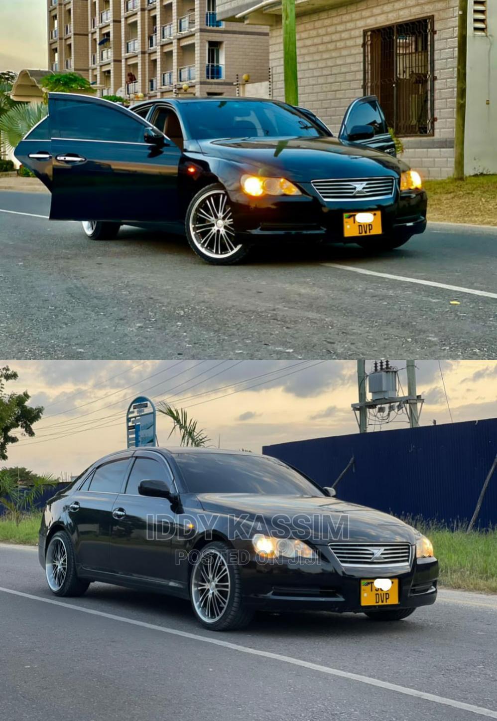 Archive: Toyota Mark X 2006 Black
