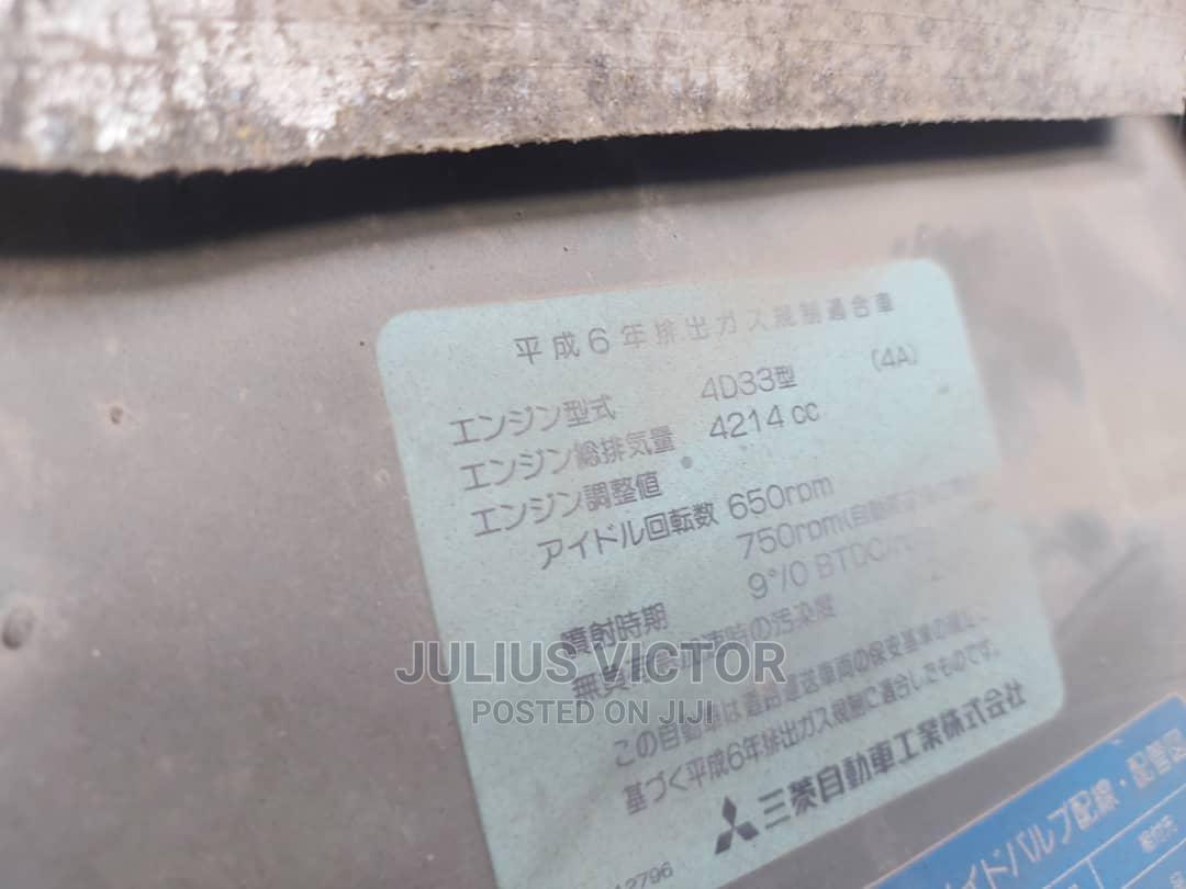 Archive: Mitsubishi Canter 1996 Blue
