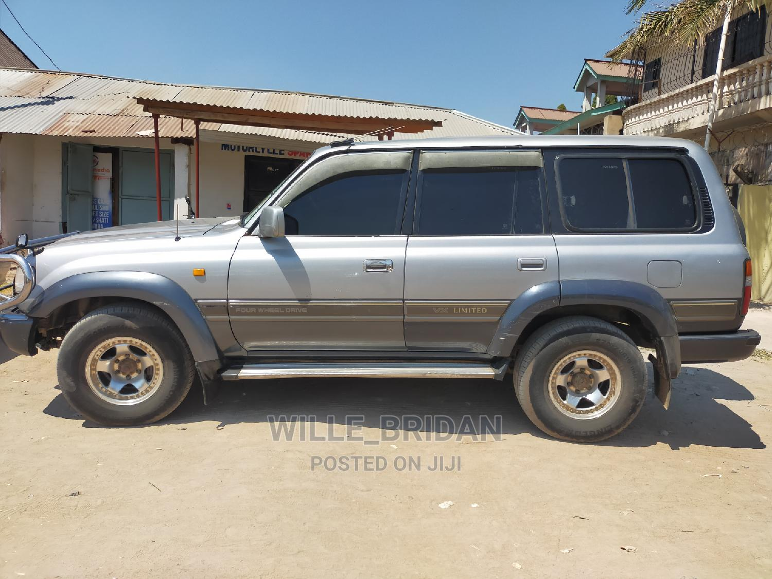 Archive: Toyota Land Cruiser 1994 Silver