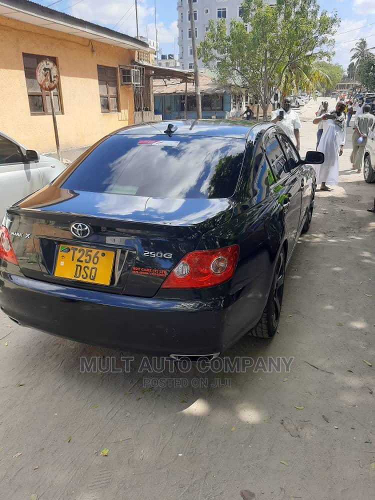 Toyota Mark X 2005 Black | Cars for sale in Ilala, Dar es Salaam, Tanzania