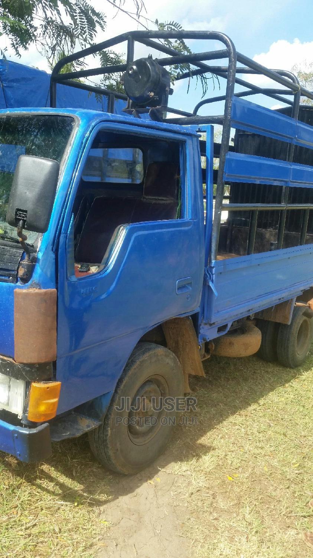 Archive: Mitsubishi Canter 1990 Blue