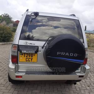 Toyota Land Cruiser Prado 2001 Silver   Cars for sale in Dar es Salaam, Kinondoni
