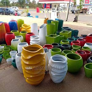 Tower Twist Fibreglass Flower Pot   Garden for sale in Dar es Salaam, Ilala