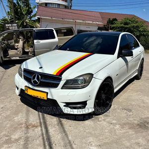 Mercedes-Benz C-Class 2008 C 200 Kompressor (W204) White   Cars for sale in Dar es Salaam, Kinondoni
