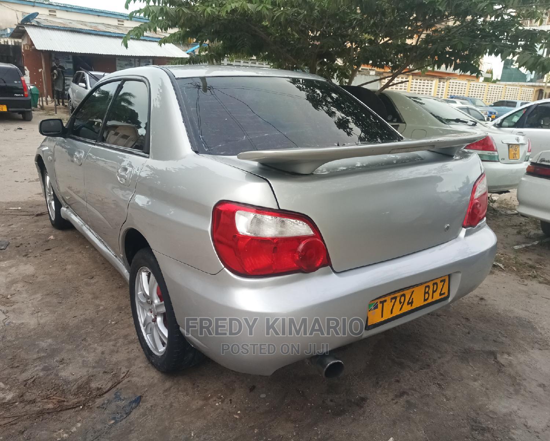 Archive: Subaru Impreza 2003 2.0 WRX Sport Wagon Silver