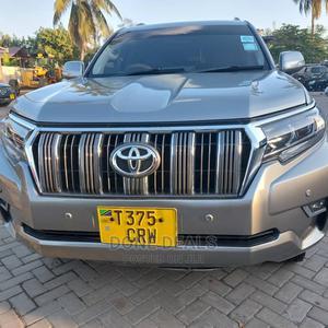 Toyota Land Cruiser Prado 2012 Silver | Cars for sale in Dar es Salaam, Kinondoni