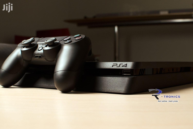 Playstation 4 Slim (500gb)   Video Game Consoles for sale in Kinondoni, Dar es Salaam, Tanzania