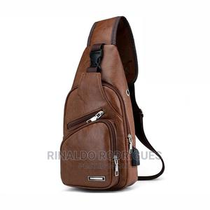 Diagonal Backpack USB for Men | Bags for sale in Dar es Salaam, Ilala