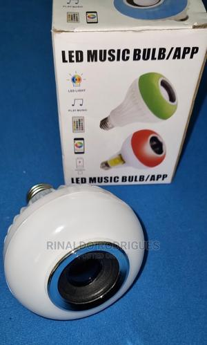Bluetooth Speaker LED Bulb Light   Audio & Music Equipment for sale in Dar es Salaam, Ilala