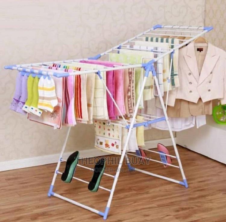 Hanger Foldable Clothes Drying Rack