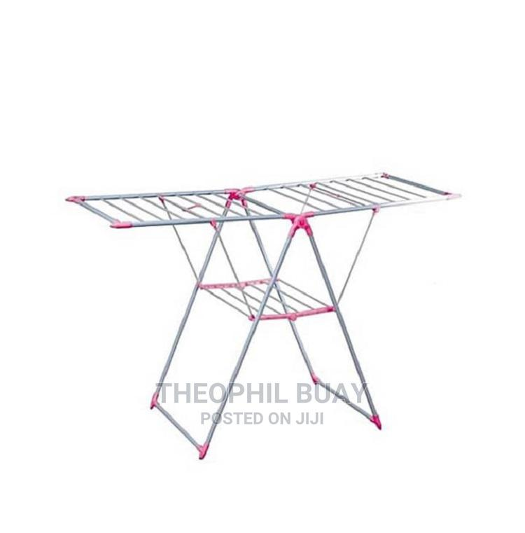 Hanger Foldable Clothes Drying Rack   Home Accessories for sale in Ilala, Dar es Salaam, Tanzania
