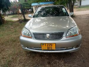 Toyota Mark II 2002 2.0 AWD Silver   Cars for sale in Dar es Salaam, Kinondoni