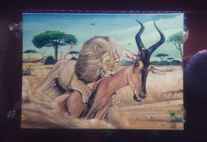 Survive Of The Fitness Painting | Arts & Crafts for sale in Dar es Salaam, Ilala