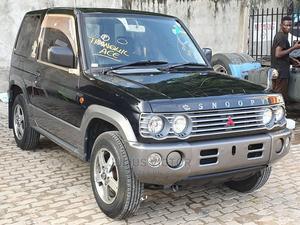 Mitsubishi Pajero 2001 Black | Cars for sale in Dar es Salaam, Kinondoni
