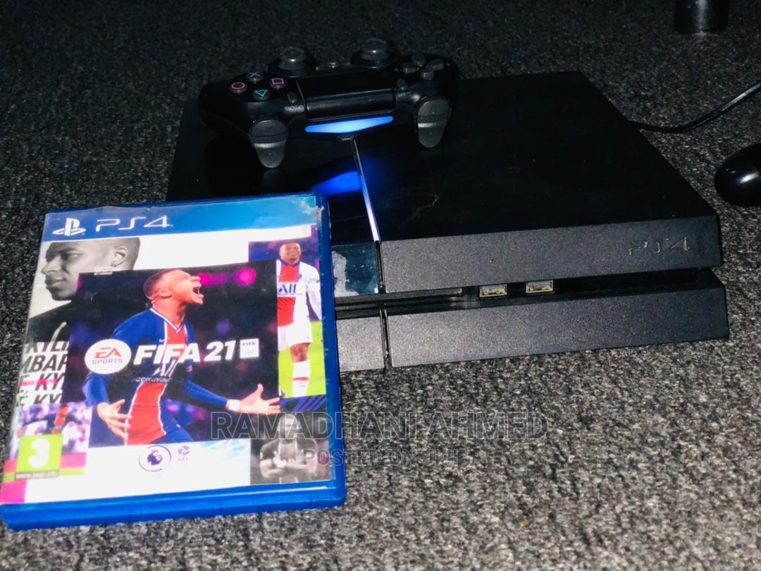 Game Play Station 4 Fat With Fifa 2021