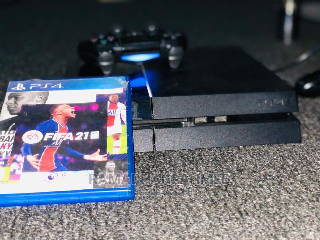 Game Play Station 4 Fat With Fifa 2021   Video Game Consoles for sale in Ilala, Dar es Salaam, Tanzania