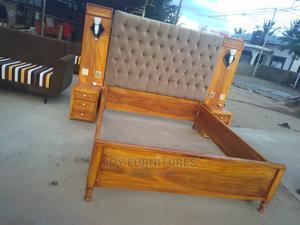 Kitanda Cha Mbao Cha Kisasa | Furniture for sale in Dar es Salaam, Temeke