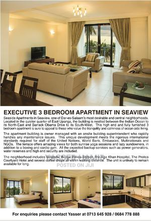 Furnished 3bdrm Apartment in Seaside Apartments, Upanga East for Rent | Houses & Apartments For Rent for sale in Ilala, Upanga East