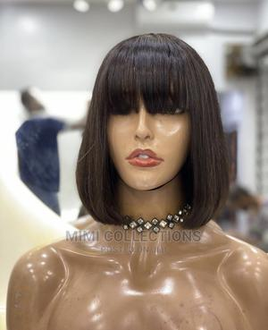 10 Inches Bob Fringe Wig   Hair Beauty for sale in Dar es Salaam, Ilala