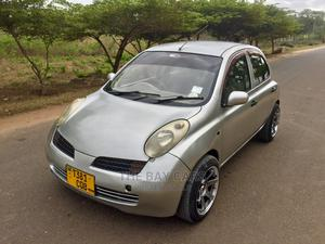 Nissan March 2005 Silver   Cars for sale in Dar es Salaam, Kinondoni