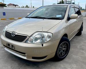 Toyota Corolla RunX 2003 Gold | Cars for sale in Dar es Salaam, Ilala