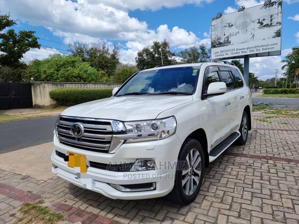 Toyota Land Cruiser 2016 White | Cars for sale in Ilala, Dar es Salaam, Tanzania
