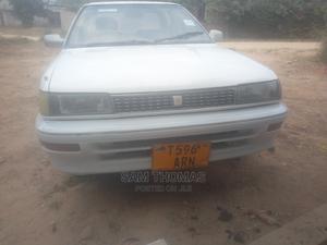 Toyota Corolla 1990 Sedan White | Cars for sale in Dar es Salaam, Kinondoni