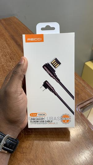 Recci USB - C Cable | Accessories for Mobile Phones & Tablets for sale in Dar es Salaam, Kinondoni