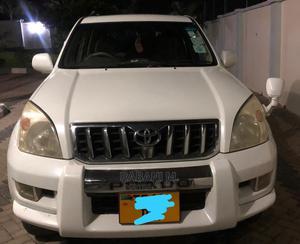 Toyota Land Cruiser Prado 2004 White | Cars for sale in Dar es Salaam, Ilala