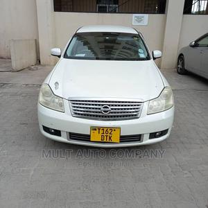 Nissan Fuga 2004 White   Cars for sale in Dar es Salaam, Ilala