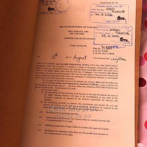 Kiwanja Chenye Hati Miliki Kinauzwa   Land & Plots For Sale for sale in Ilemela, Kiseke